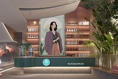 深圳女权主义餐厅设计_南小婉新派湘菜品