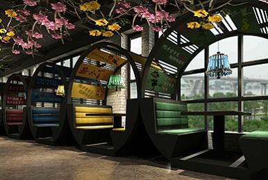 深圳湘菜特色连锁餐厅设计_全案策划设计_萌趣鸭子风格