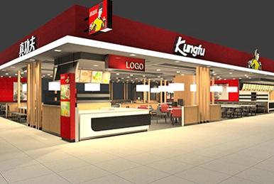 真功夫二代店餐饮视觉空间设计