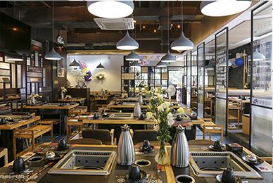 深圳火锅店设计_嗨辣嗨了特色小吃店餐饮品牌文化策划