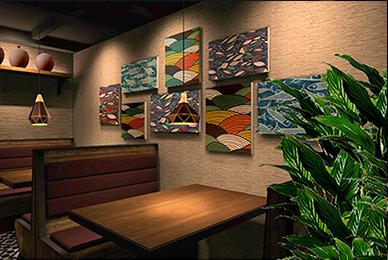 深圳溪游记餐饮空间设计