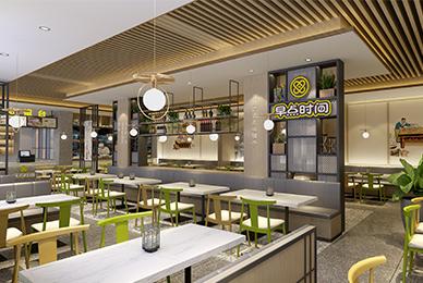 东莞广式点心铺子设计_早点时间餐饮品牌vi系统设计
