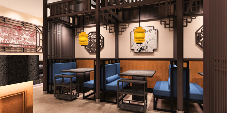 徐州老员外骨头汤餐饮空间设计-4