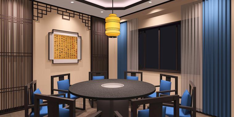 徐州老员外骨头汤餐饮空间设计-9