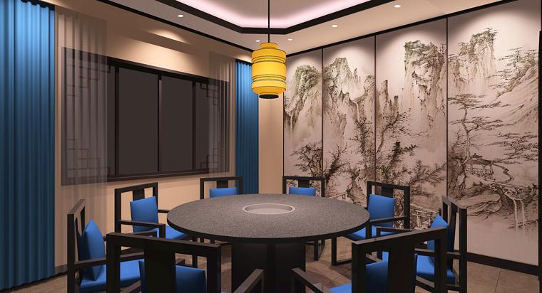 徐州老员外骨头汤餐饮空间设计-10
