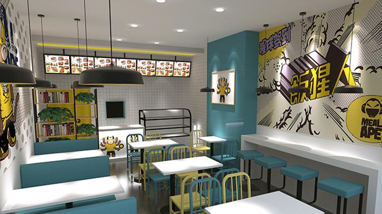 餐厅空间布局设计